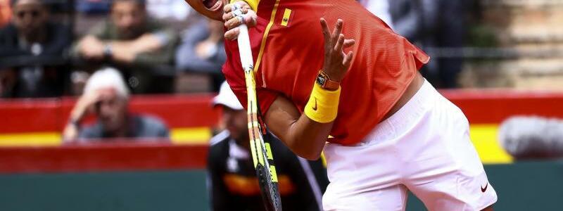 Rafael Nadal - Foto: Rafael Nadal zeigt gegen Philipp Kohlschreiber einige für ihn ungewöhnlich Fehler, war aber trotzdem nicht zu schlagen. Foto:Jose M. Fernandez De Velasco/gtres