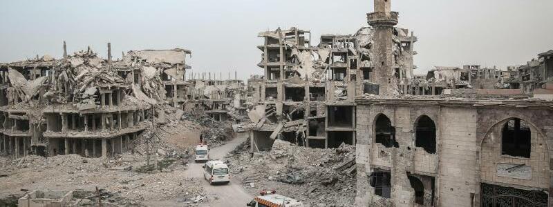 Zerstörung in Ost-Ghuta - Foto: Anas Alkharboutli/Archiv