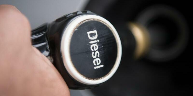 Diesel-Zapfpistole - Foto: Marijan Murat