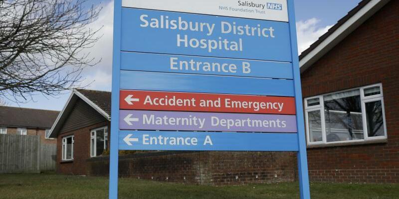 Krankenhaus in Salisbury - Foto: Matt Dunham/AP