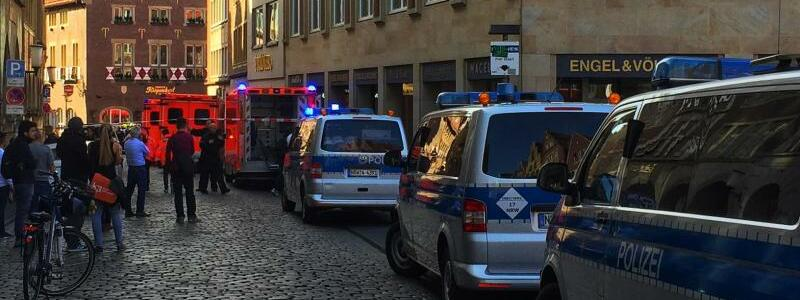 Zwischenfall in Münster - Foto: dpa
