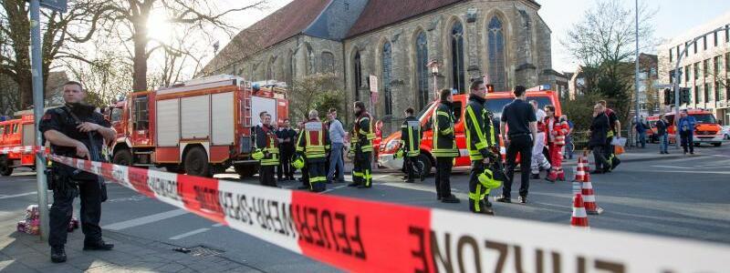 Zwischenfall in Münster - Foto: Friso Gentsch