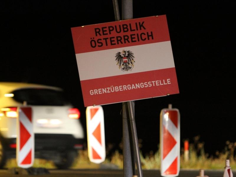 Österreichischer Grenzübergang - Foto: über dts Nachrichtenagentur