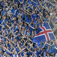 Isländische Fußballfans - Foto: Peter Kneffel
