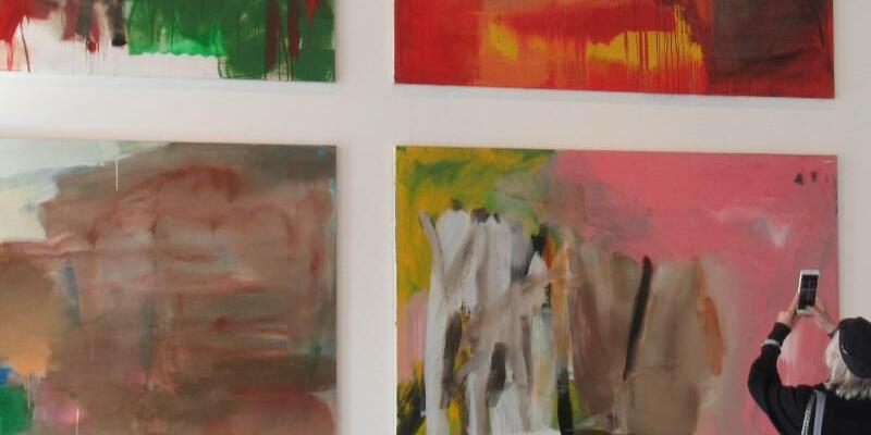 Albert Oehlen Ausstellung - Foto: Sabine Glaubitz