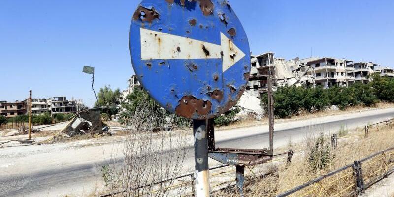 Homs - Foto: Youssef Badawi/EPA/Archiv