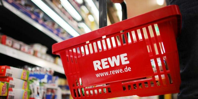 Rewe-Supermarkt - Foto: Oliver Berg/Illustration