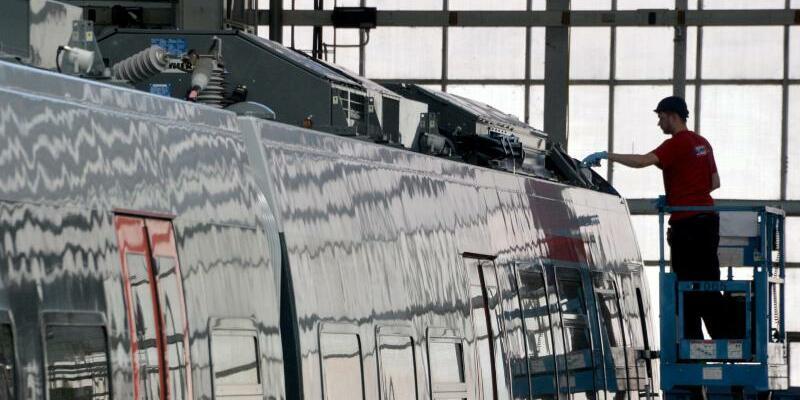 Bombardier Hennigsdorf - Foto: Bernd Settnik