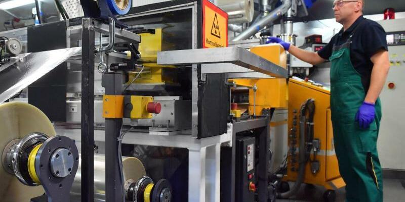 Batteriezellenproduktion in Thüringen - Foto: Martin Schutt