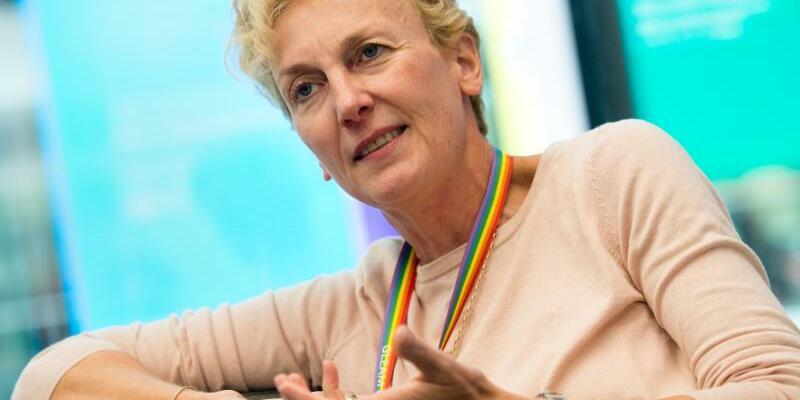 Microsoft-Deutschland-Chefin Sabine Bendiek - Foto: Matthias Balk/Archiv