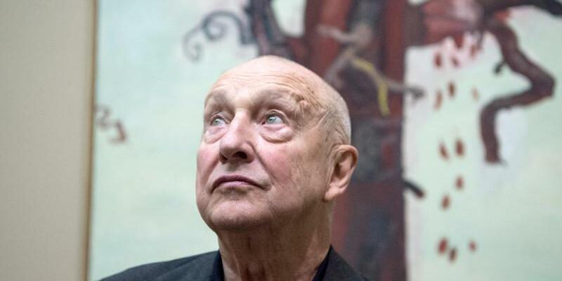 Georg Baselitz - Foto: Boris Roessler