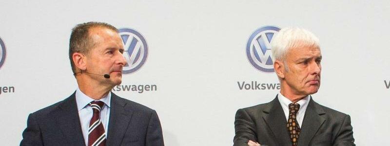 Diess und Müller - Foto: Philipp von Ditfurth/Archiv