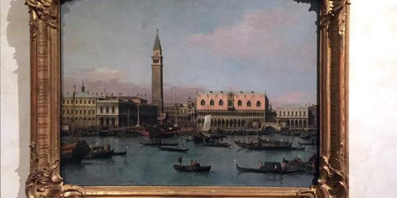Canaletto-Gemälde im Palazzo Braschi - Foto: Alvise Armellini