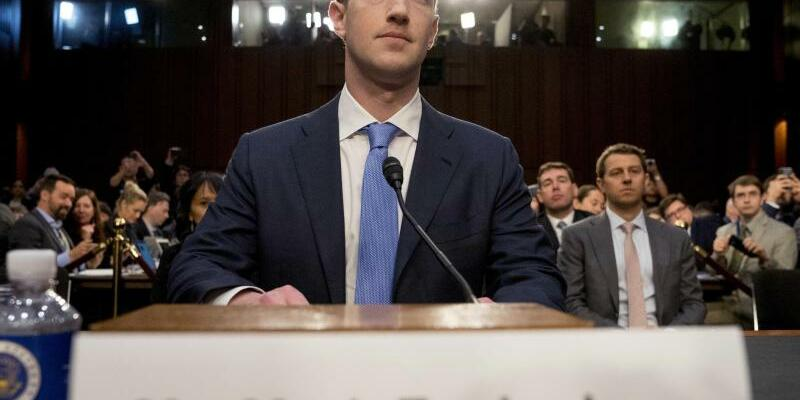 Mark Zuckerberg - Foto: Andrew Harnik