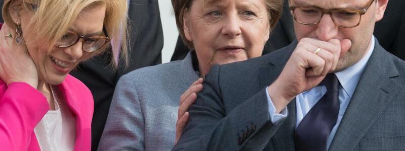 Klöckner, Merkel und Spahn - Foto: Ralf Hirschberger