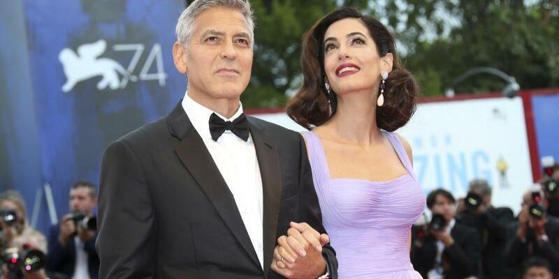 Ehepaar Clooney - Foto: Joel Ryan