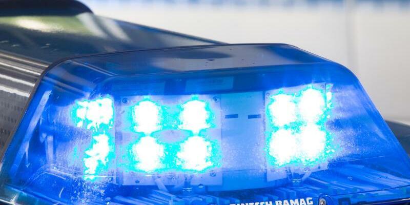 Blaulicht auf Polizeiwagen - Foto: Friso Gentsch/Symbol