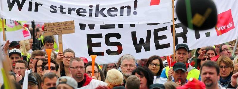 Kundgebung in Nürnberg - Foto: Daniel Karmann