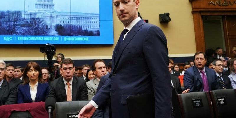 Mark Zuckerberg vor US-Kongress - Foto: Andrew Harnik/AP