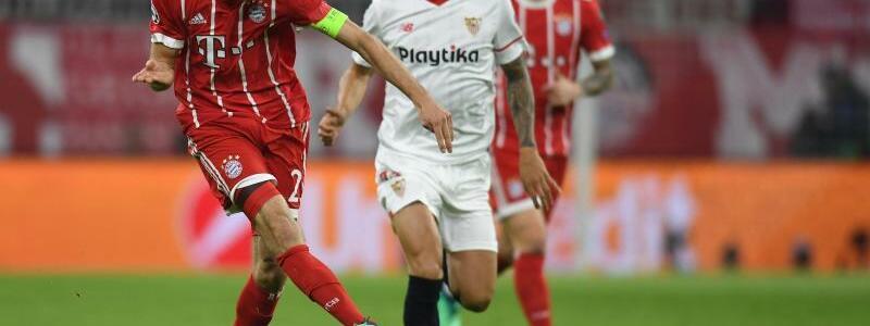 Bayern München - FC Sevilla - Foto: Sven Hoppe