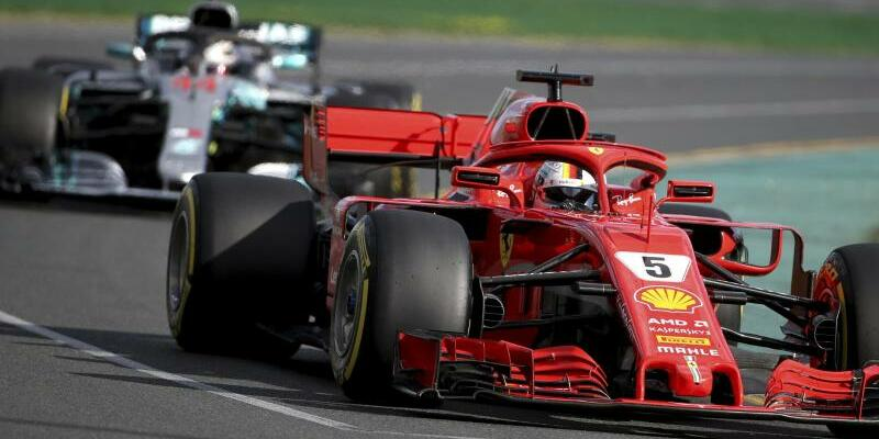 Vettel und Hamilton - Foto: Rick Rycroft