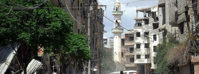 Konflikt in Syrien - Foto: Ammar Safarjalani/XinHua