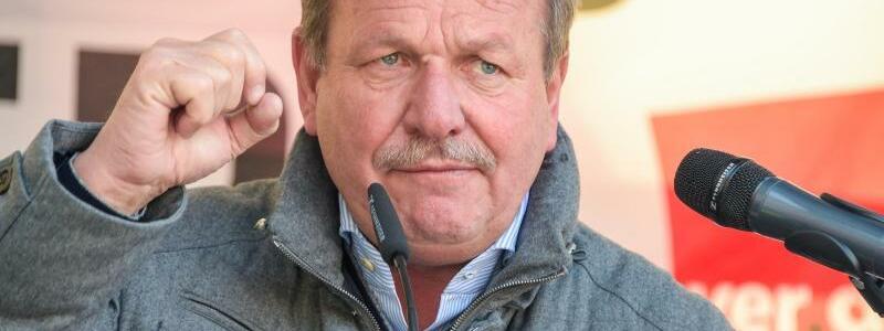 Frank Bsirske - Foto: Axel Heimken
