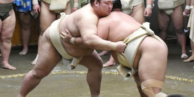 Sumo-Training - Foto: kyodo