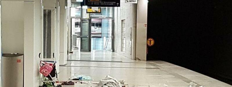 S-Bahnsteig Jungfernstieg - Foto: Polizei Hamburg