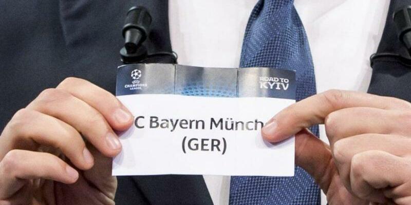 Auslosung - Foto: Welcher Gegner wird bei der Auslosung für Bayern München gezogen: Real Madrid, Liverpool oder Rom? Foto:Jean-Christophe Bott