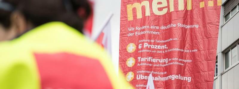 Warnstreik öffentlicher Dienst - Foto: Fabian Sommer