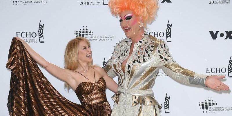 Echo 2018 - Kylie Minogue + Oliva Jones - Foto: Britta Pedersen