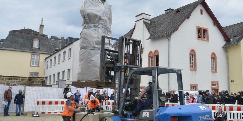 Marx-Statue in Trier - Foto: Harald Tittel