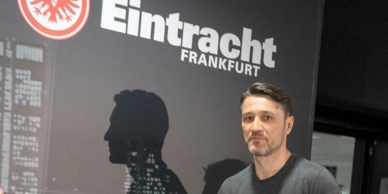 Pressekonferenz - Foto: Trainer Niko Kovac kommt in Frankfurt zur Pressekonferenz in der Commerzbank-Arena. Foto:Boris Roessler