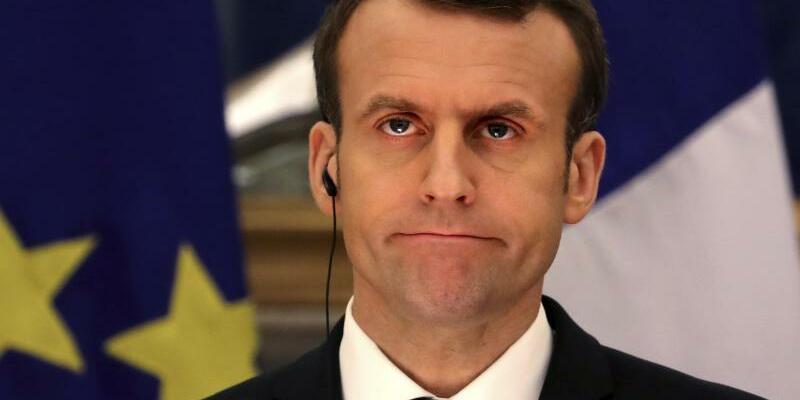 Emmanuel Macron - Foto: Manish Swarup/AP