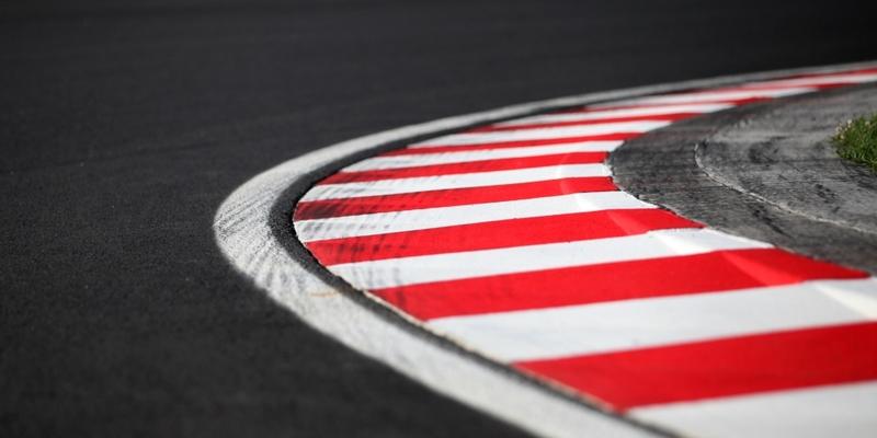 Fahrbahnmarkierung auf einer Formel-1-Rennstrecke - Foto: über dts Nachrichtenagentur
