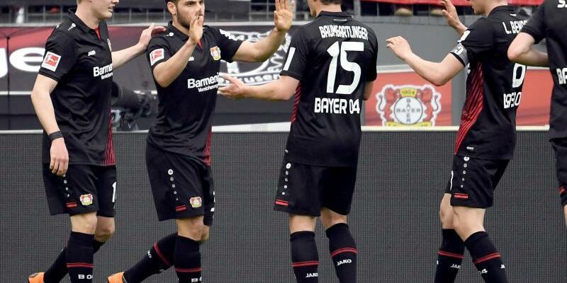 Hochmotiviert - Foto: Die Leverkusener haben sich für das Pokalspiel gegen Bayern München warmgeschossen. Foto:Federico Gambarini