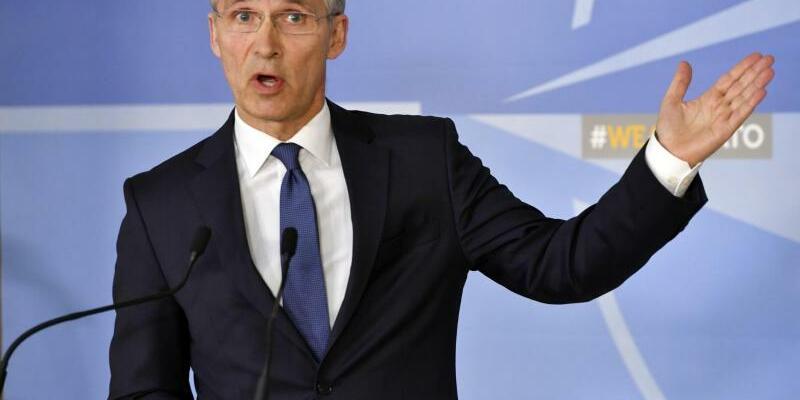 Jens Stoltenberg - Foto: Stoltenberg bereitet den Nato-Gipfel vor, der im Juli in Brüssel stattfindet. Foto:Geert Vanden Wijngaert/AP