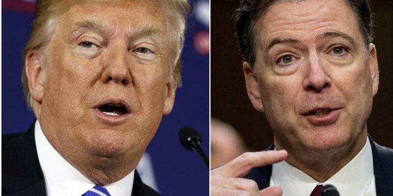 Trump und Comey - Foto: AP