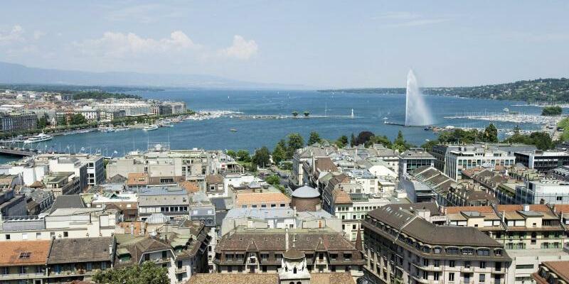 Stadtansicht Genf - Foto: epa Keystone Gaetan Bally/epa