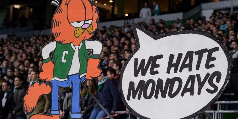 Protest gegen Montagsspiele - Foto: Axel Heimken