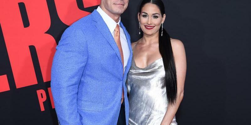 John Cena und Nikki Bella - Foto: Richard Shotwell
