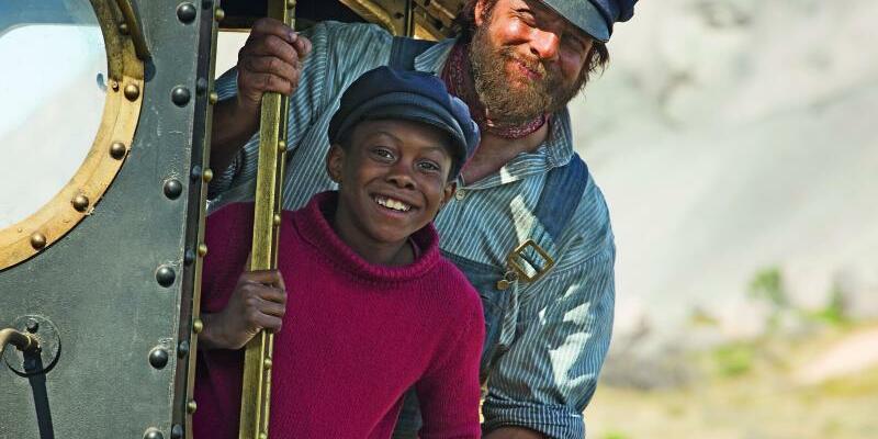 Jim Knopf und Lukas der Lokomotivführer - Foto: Ilze Kitshoff