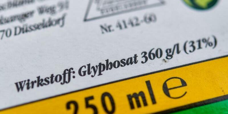 Glyphosat - Foto: Patrick Pleul