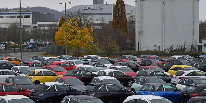 Eisenacher Opel-Werk - Foto: Die Zukunft des Montagewerks mit etwa 1800 Mitarbeitern bleibt ungewiss. Foto:Martin Schutt