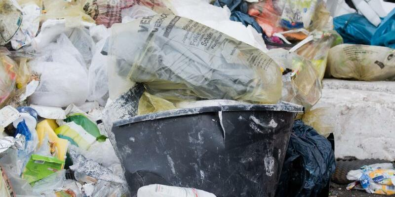 Plastikmüll - Foto: Schmeckt auch Bakterien gut:Eine neue Enzymvariante könnte beim Plastik-Recycling helfen. Foto:Julian Stratenschulte