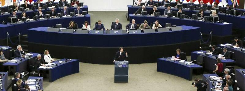 Im Europäischen Parlament - Foto: Elyxandro Cegarra, ZUMA Wire