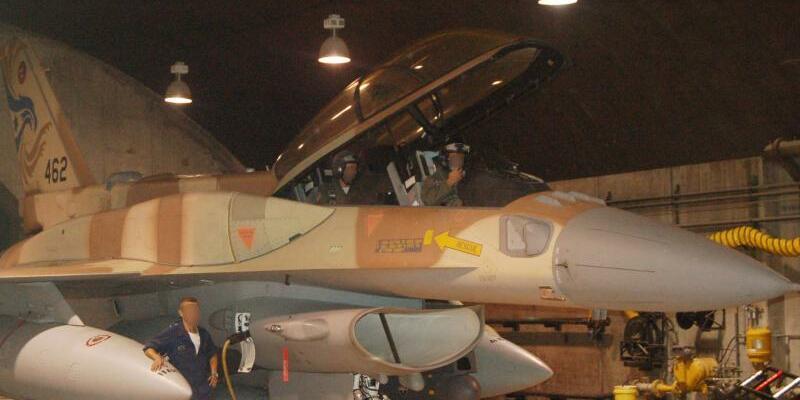 Israelischer Kampfjet - Foto: IDF/Archiv