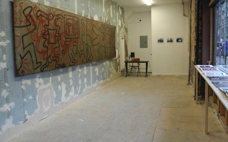 Wandgemälde von Keith Haring - Foto: Johannes Schmitt-Tegge