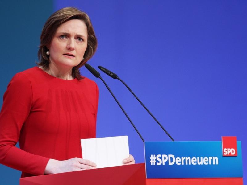 Simone Lange am 22.04.2018 - Foto: über dts Nachrichtenagentur